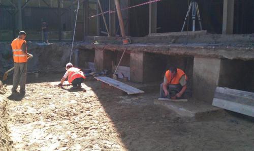 Budowa muru oporowego (3)