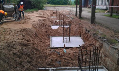 Budowa muru oporowego (9)