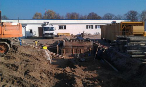 Budowa węzła betoniarskiego (2)